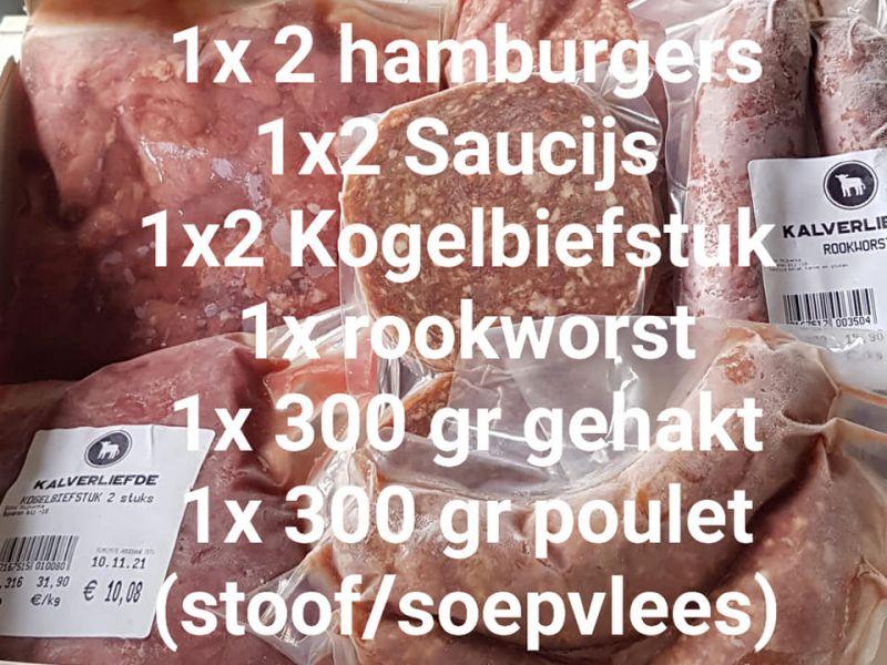 Actiepakket 1 voor slechts €25,-